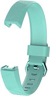 lā Vestmon Bracelet en Silicone Bracelet de Remplacement de Bracelet à Puce pour Fitbit Alta HR