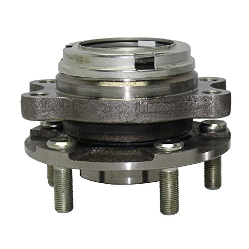Detroit Axle Front Driver or Passenger Side Complete Wheel Hub & Bearing Assembly for 2007-13 Altima 3.5L - [14-17 Altima] - 09-14 Maxima - [16-17 Maxima] - 13-17 Pathfinder - 11-13 Quest