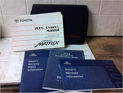 toyota matrix owners