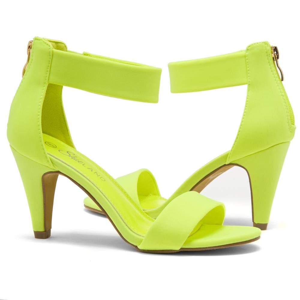 Herstyle RROSE Womens Open Toe High Heels Dress Wedding Party Elegant Heeled Sandals