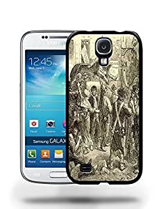 Vintage Les Mis¨¦rables Sketch Art Drawing Phone Case Cover Designs for Samsung Galaxy S4