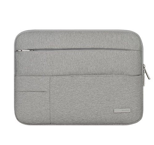 ss Carrying Sleeve bag Breifcase Cover for HP Spectre x2 12 / Elite x2 (1012) / HP Pavilion x2 12.1 / HP Pro Slate 12 / Sony Z4 Tablet Pro 12 (Gray) ()