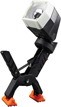Klein Tools Dust and Water Resistant Clamping LED Work Light