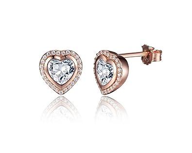 1bfa44264f4d Amazon.com  Aretes De Mujer Pendientes One Love Stud Earrings ...