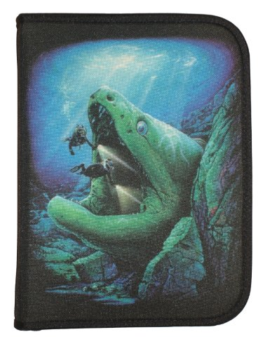 Amphibious Outfitters Scuba Diving Log Book Moray Eel Design