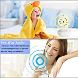"Baby Monitor Wireless Camera+ Talk-Back Two-Way Audio+Night Vision Temp Sensor+ Built-in 8 Lullaby +2"" LCD Screen+Baby Pet Surveillance Video Monitor Nanny Cam For Home Security System"