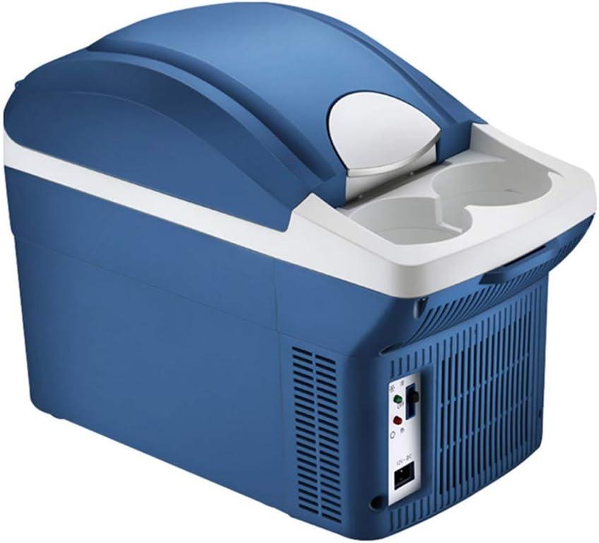GL- 8l Refrigerador para Auto Casa para Autos de Uso Dual Dormitorio de Estudiantes Apartamento en el Hotel Mini refrigerador con congelador 12v / 24v / 220v Enfriador y Calentador - Azul