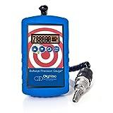 DigiVac BPG Bullseye Precision Gauge, Portable Hands-Free Micron Meter, Measures in 12 Vacuum Units (Inches of Hg, Torr, mBar)