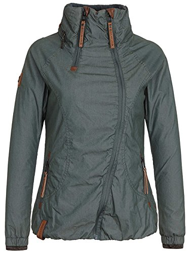 Naketano Donna Scuro Basic Verde Giacca r77XqwTS