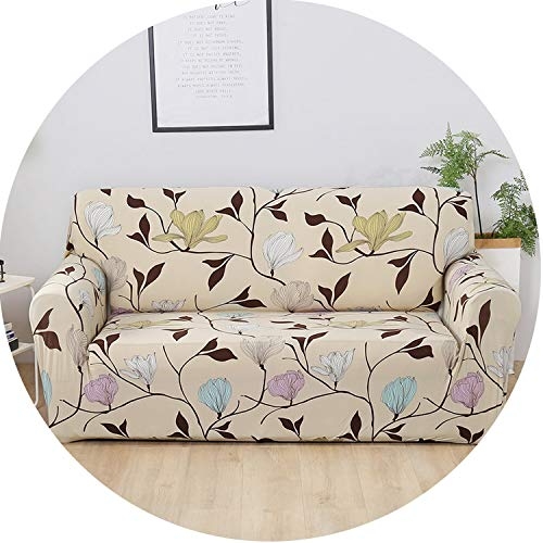 Flower Slipcover Sofa Cover Tightly Wrap Sofa Cover Elasticity Sofa Cover 1Pc,Color 11,Single Seat (Nc Furniture Charlotte Outdoor)