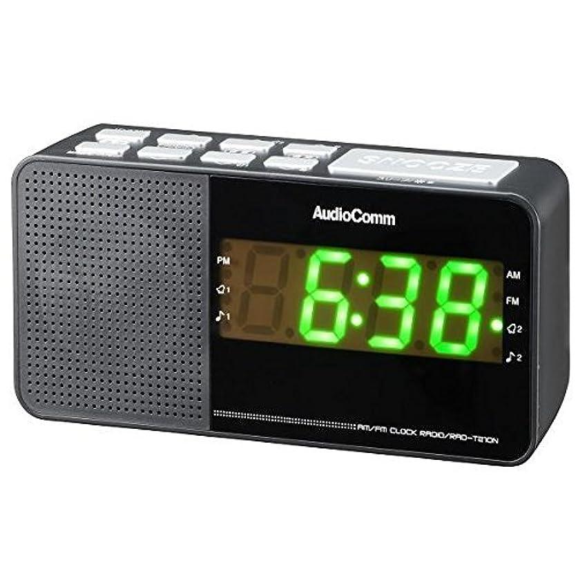くつろぎ公平専門知識OHM デジタルクロックラジオ ホワイト [RAD-F3357M-W]