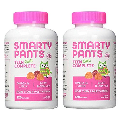 SmartyPants Teen Girl Complete Gummy Vitamins Bundle (2 Pack) -