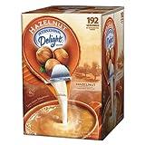 International Delight 827965 Flavored Liquid Non-Dairy Coffee Creamer, Hazelnut, .44 oz Cups, 192 Cups/Carton