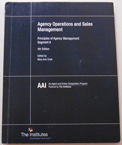 Agency Ops+Mgt Principles Segment A