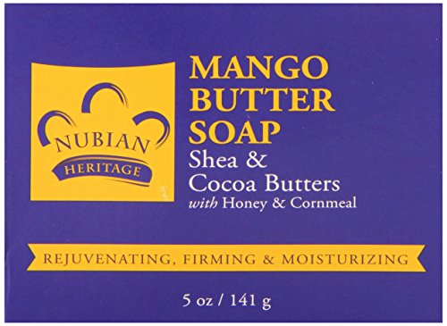 Body Butter Soap With Mango, Shea and Cocoa Butters 5oz (6-pack)