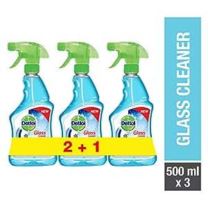 Dettol Glass Cleaner 500ml 2+1 Free