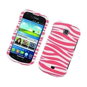 Quaroth Bundle Accessory for Verizon Samsung Galaxy Stellar i200- Pink Zebra Hard Case Protector Cover + Lf Stylus Pen...