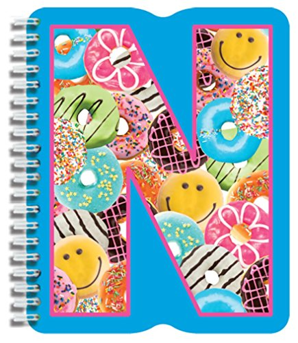 iscream Letter N Shaped Spiral-Bound Lined Page 6.5
