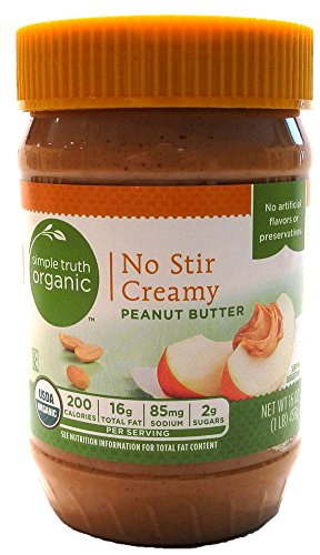 Simple Truth Organic ''No Stir'' Creamy Peanut Butter (2 Pack) by Simple Truth
