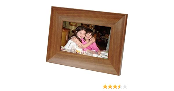 amazoncom smartparts sp70ew 7 inch digital frame wood digital picture frames camera photo