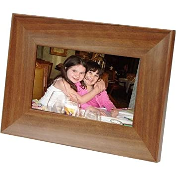 smartparts sp70ew 7 inch digital frame wood
