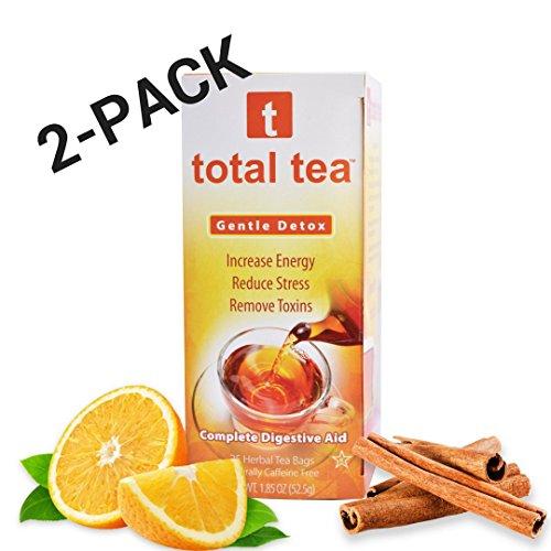 Body Boost Trunk - Total Tea Gentle Detox Tea | Herbal Tea Supplement with Echinacea (2 Pack)