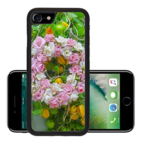 Luxlady Premium Apple iPhone 7 Aluminum Backplate Bumper Snap Case iPhone7 IMAGE ID 25548798 Colorful flowers for your loved ones on Valentine s Day