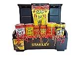 Slap Ya Mama Cajun Seasoning Variety Gift Bundle with Stanley Toolbox - Bundle of 8 Pieces