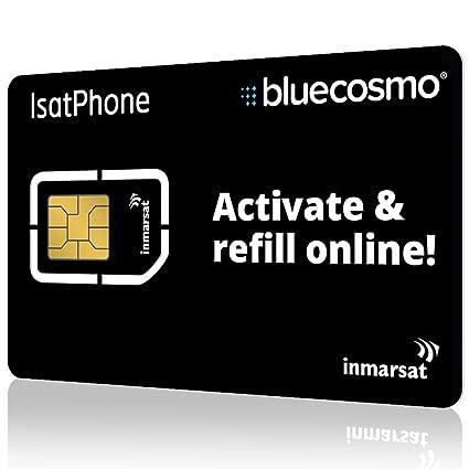 Amazon.com: BlueCosmo Inmarsat IsatPhone Prepaid SIM Card ...