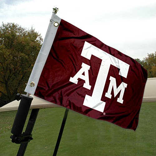Texas A&M Golf Cart and Boat Flag