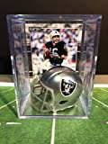 Oakland Raiders NFL Helmet Shadowbox w/Jim Plunkett card