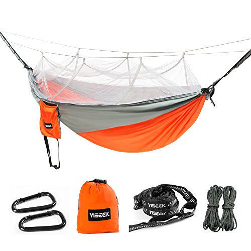 o Net Hammock w/Adjustable Hanging Straps, Premium Quality N Bug Free, Best Parachute Lightweight Durable Portable for Camping, Hiking, Backpacking, Travel, Outdoor, Beach, Yard (11 Limited Space Net)