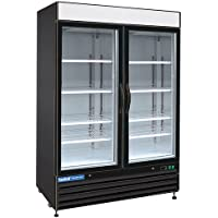 Central Exclusive 69K-055 48 Cu Ft. Swing Glass Door Merchandiser - Refrigerator, 2 Doors, 54W