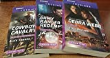 Harlequin Intrigue October 2016 - Set of 3 Books: Still Waters\Army Ranger Redemption\Cowboy Cavalry