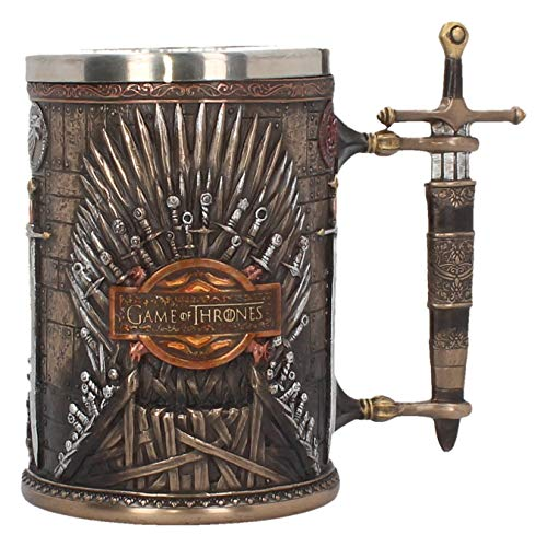 Large Tankard - GAME OF THRONES IRON THRONE TANKARD 14CM