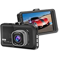 Artix HD Car Dash Camera Bundle includes 16GB Kingston microSD | High Definition 1080P Video Camera Recorder |140 Degree Wide-Angle Car DVR View Road Traffic Cam