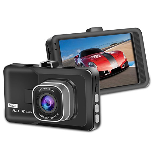 Artix HD Car Dash Camera Bundle Includes 16GB Kingston microSD, High Definition 1080P Video Camera Recorder, 140 Degree Wide-Angle Car DVR View Road Traffic Cam