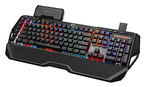G.SKILL RIPJAWS KM780 RGB On-the-Fly Macro Mechanical Gaming Keyboard, Cherry MX Red by G.Skill