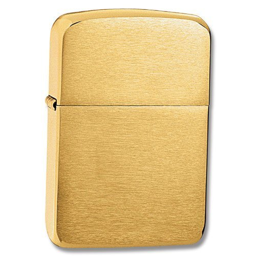 Zippo 1941 Replica Brushed Brass Pocket Lighter