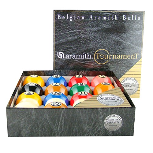 Aramith Tournament Pro-Cup TV Billiard Ball Set - Tech Billiard Ball Set