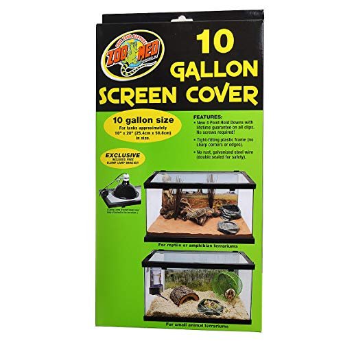 - Zoo Med Screen Cover for 10 Gallon Tanks