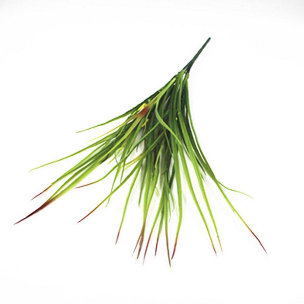 cysincos, Grü n, kü nstliche Pflanzen Persian Grass Leaf fü r Hochzeit Heim, Garten, Deko