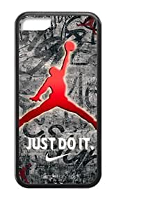 diy zhengHoomin Cool Air Michael Jordan Design Ipod Touch 5 5th Cell Phone Cases Cover Popular Gifts(Laster Technology)