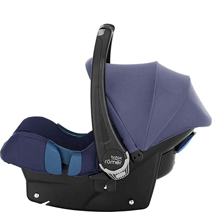 Britax Römer Baby-Safe, Silla de coche grupo 0+ Isofix, azul (Moonlight Blue)