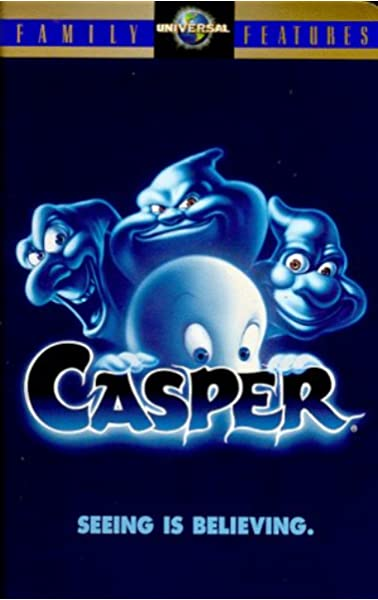 Amazon Com Casper Vhs Christina Ricci Bill Pullman Cathy Moriarty Eric Idle Brad Silberling Movies Tv