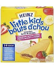 Heinz Little Kids Strawberry Banana Yogurt Cereal Bars, 72 Bars (12 Boxes of 6 Bars)