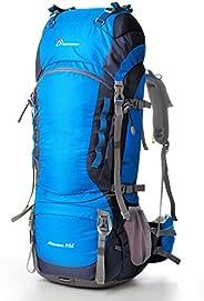 Mountaintop 55/80L Internal Frame Hiking Backpack