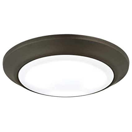 westinghouse 6323200 led indooroutdoor dimmable surface mount wet location oil rubbed bronze finish - Outdoor Surface Mount Light