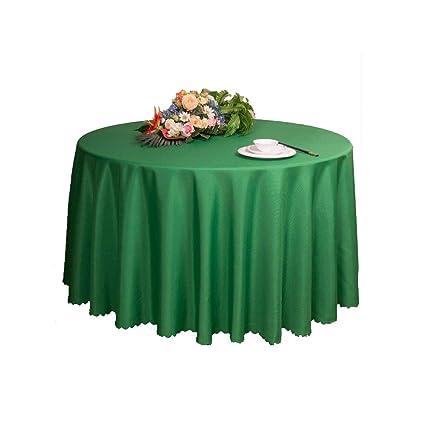 Green Round Table.Amazon Com Zhfhappy Tablecloth Hotel Round Table Tablecloth Round