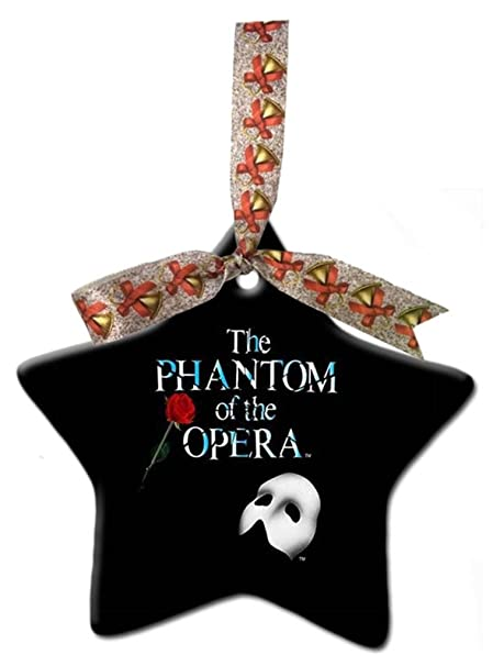 Phantom Of The Opera Custom Gift Star Christmas Ornaments Ceramic Crafts  Home Decoration - Amazon.com: Phantom Of The Opera Custom Gift Star Christmas
